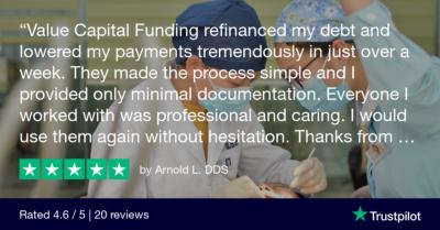 Trustpilot Review - Arnold L. DDS