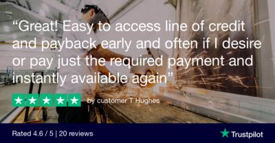 Trustpilot Review - customer T Hughes